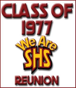 Class of 1977 We Are SHS Reunion Logo