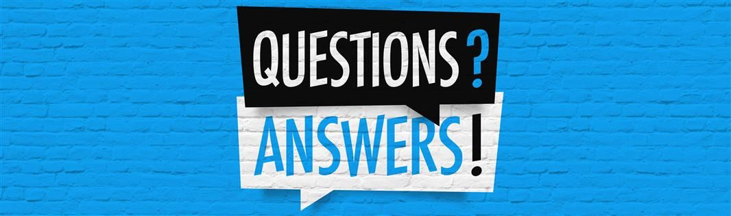 Questions Answers Graphic