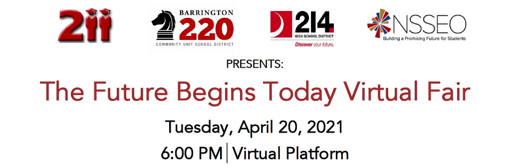The Future Begins Today Virtual Fair- Tuesday, April 20th, 2021
